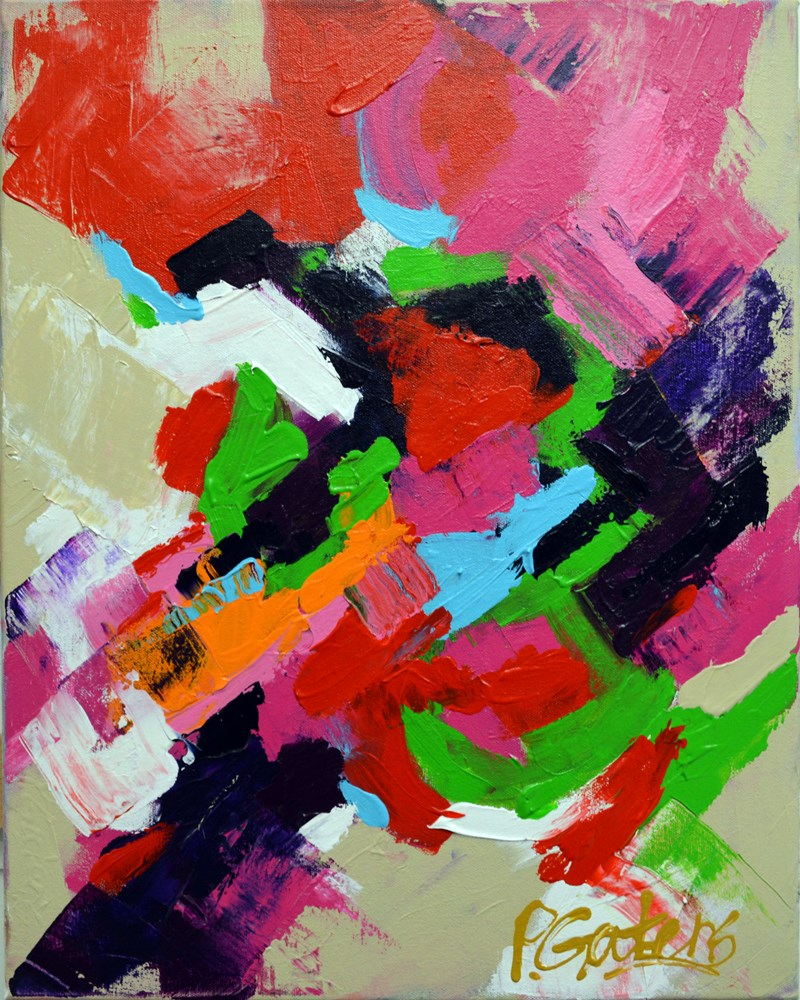 """Rose Trellis"" original fine art by Pamela Gatens"