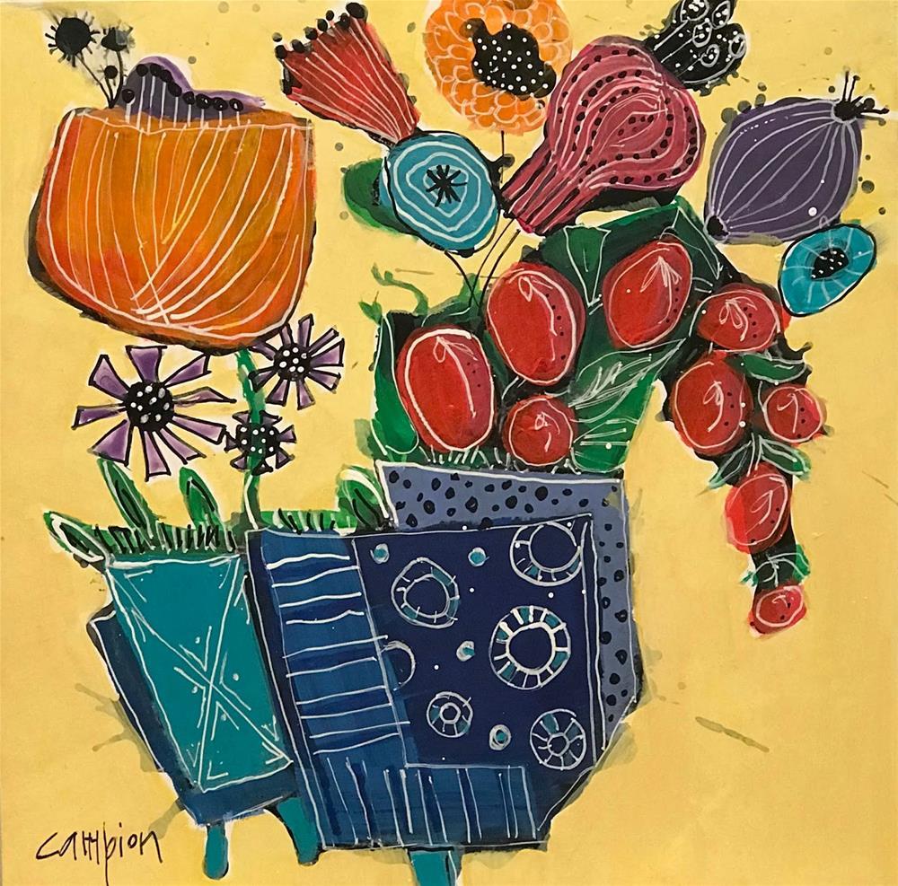 """962 Jack in the Box"" original fine art by Diane Campion"