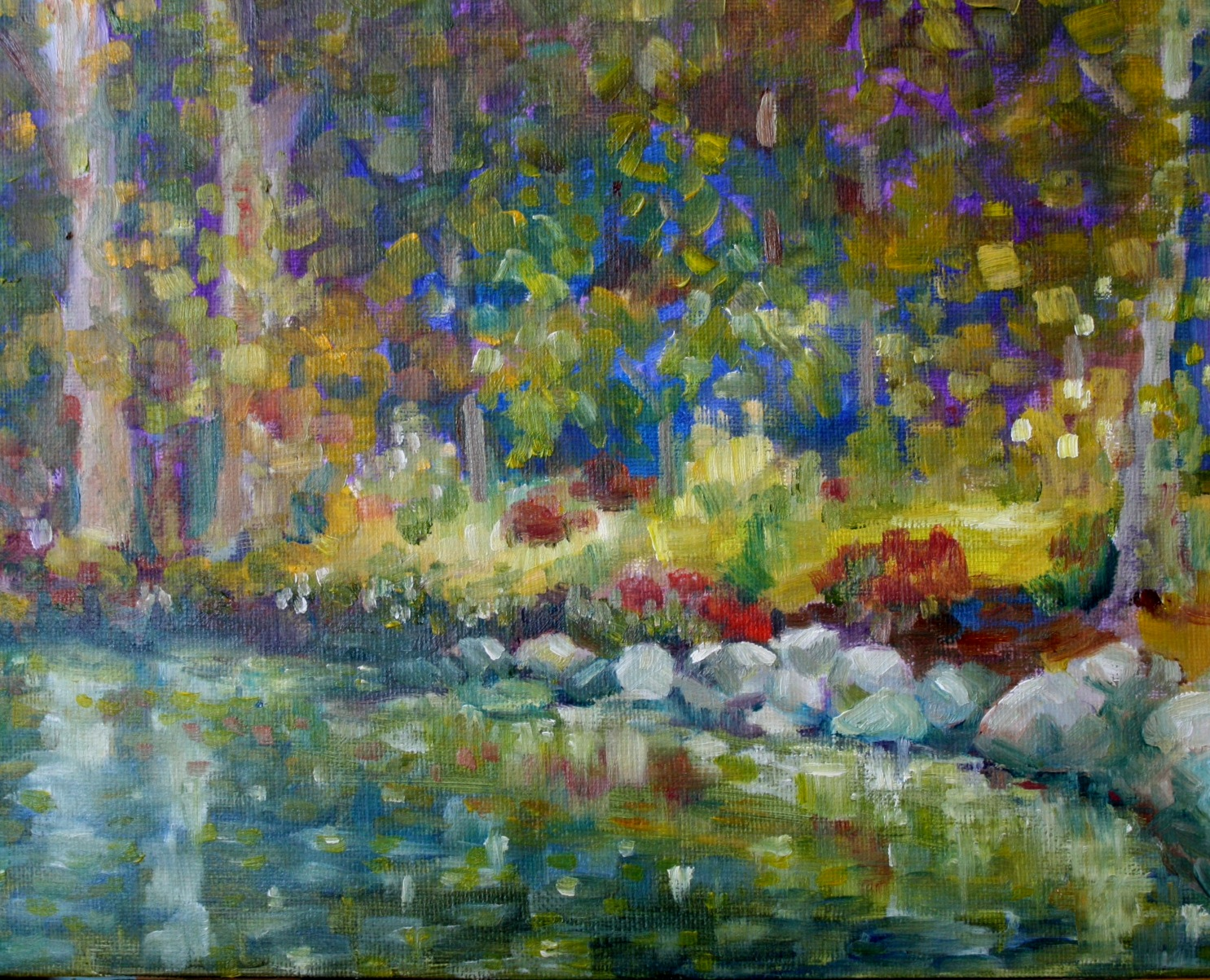 """Reflections"" original fine art by Maggie Flatley"