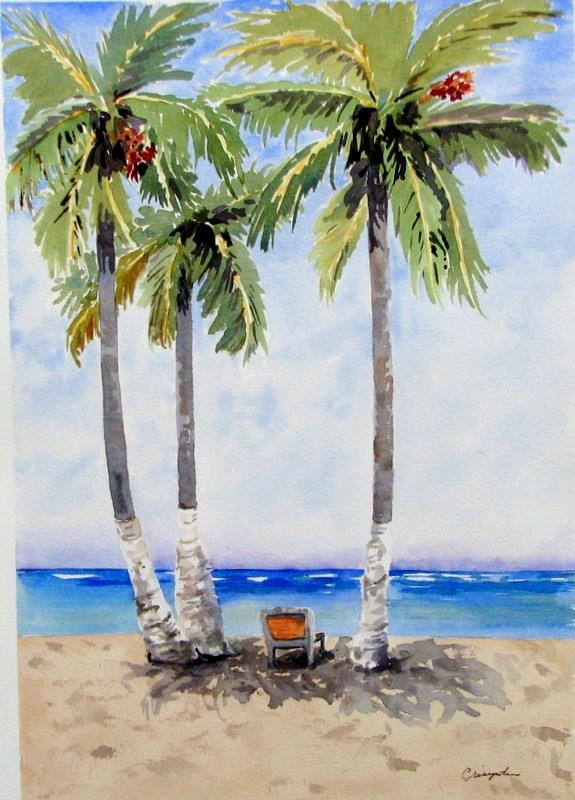 """Rest awhile"" original fine art by Crisynda Buss"