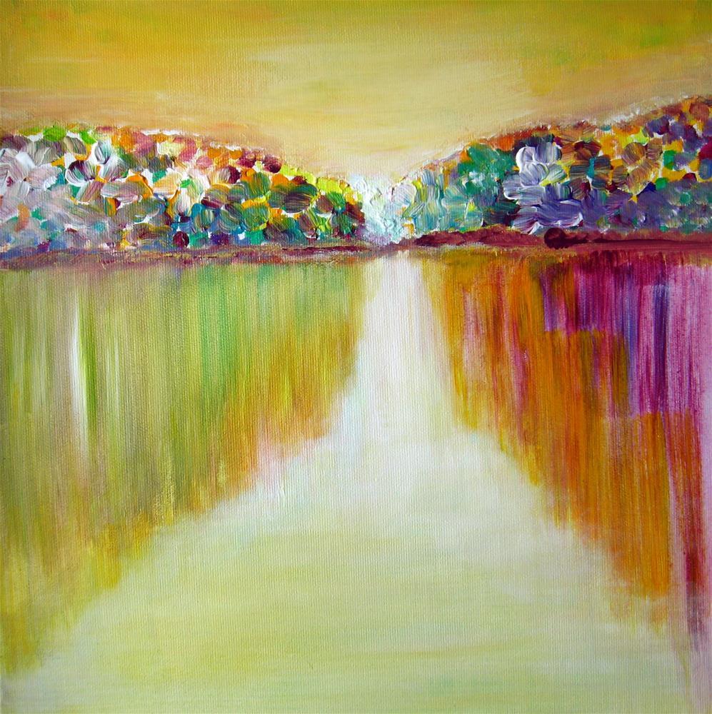 """Colorful Spring"" original fine art by Alina Frent"