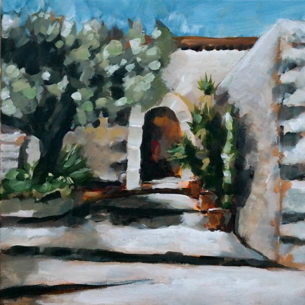 """1070 Olive Tree"" original fine art by Dietmar Stiller"