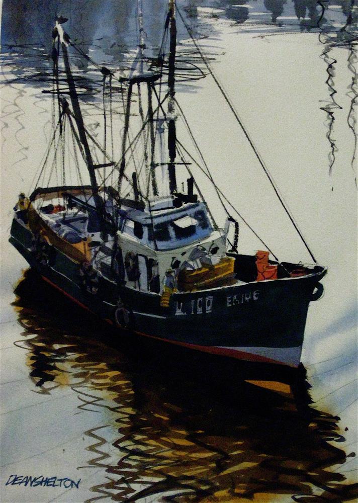 """Going Fishing"" original fine art by Dean Shelton"