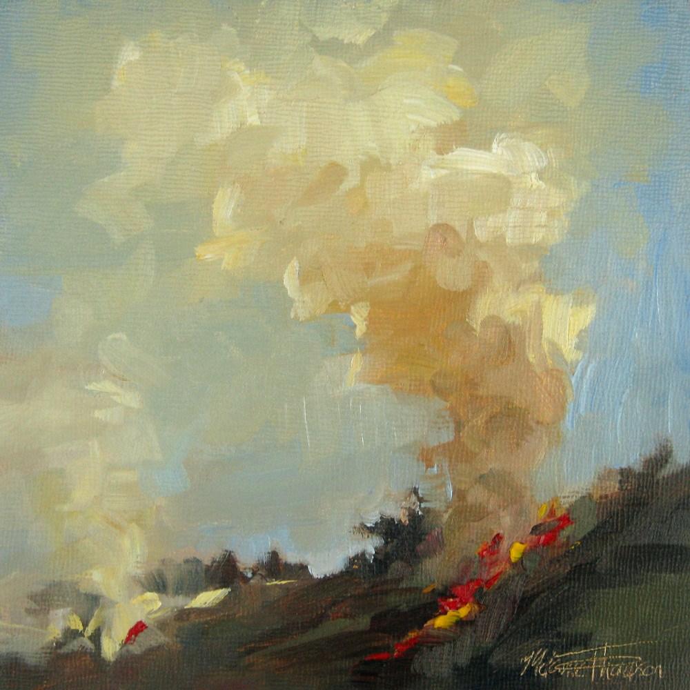 """""""Dirty Burn - by Melanie Thompson"""" original fine art by Melanie Thompson"""
