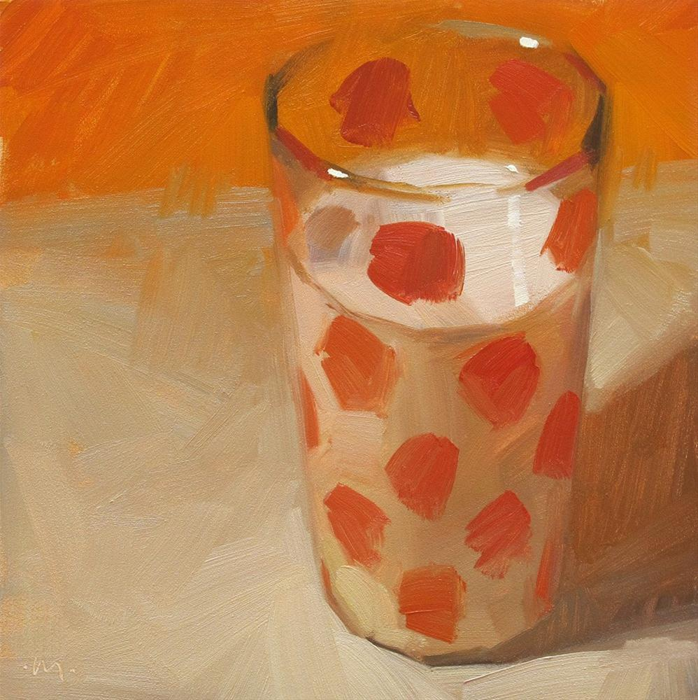"""Vintage Milk"" original fine art by Carol Marine"