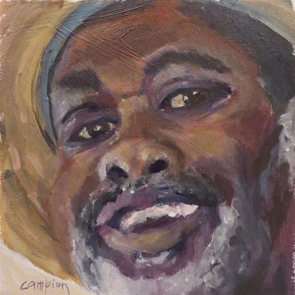 """745 Welcome to the Gullah Grub Restaurant"" original fine art by Diane Campion"