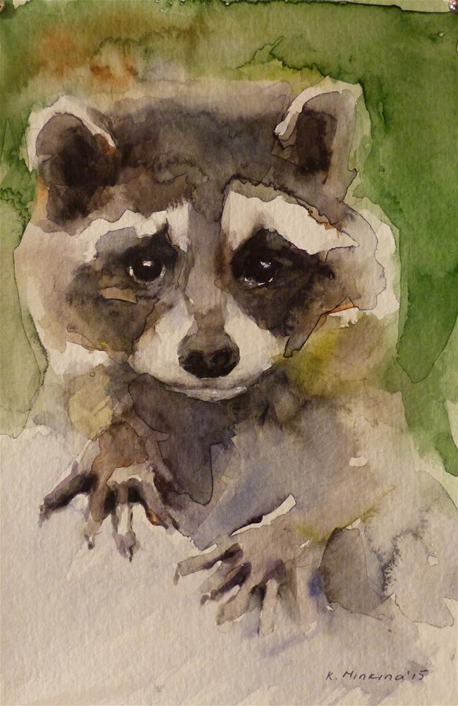 """wildlife2"" original fine art by Katya Minkina"