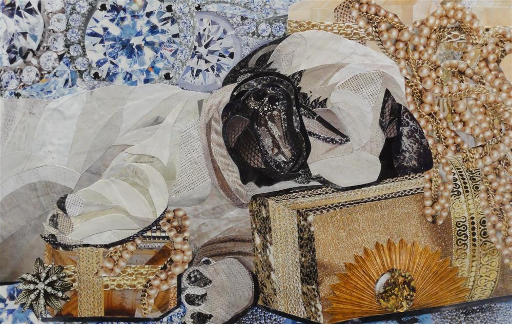 """""""Sweet Dreams"""" original fine art by Cynthia Frigon"""