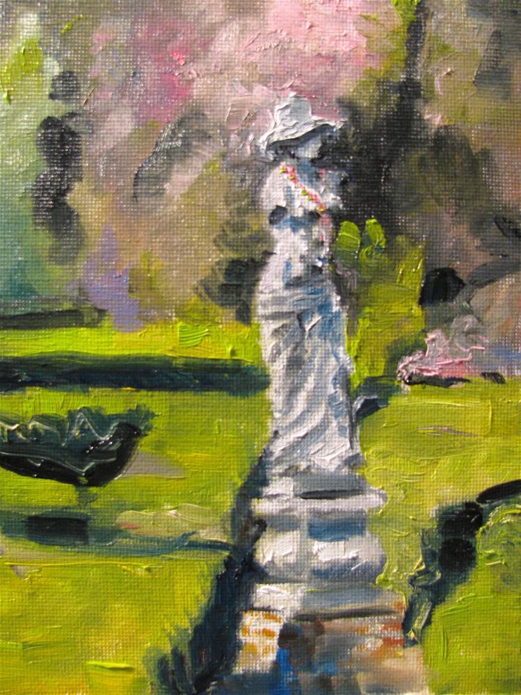 """Mardi Gras in the Garden"" original fine art by Susan Elizabeth Jones"