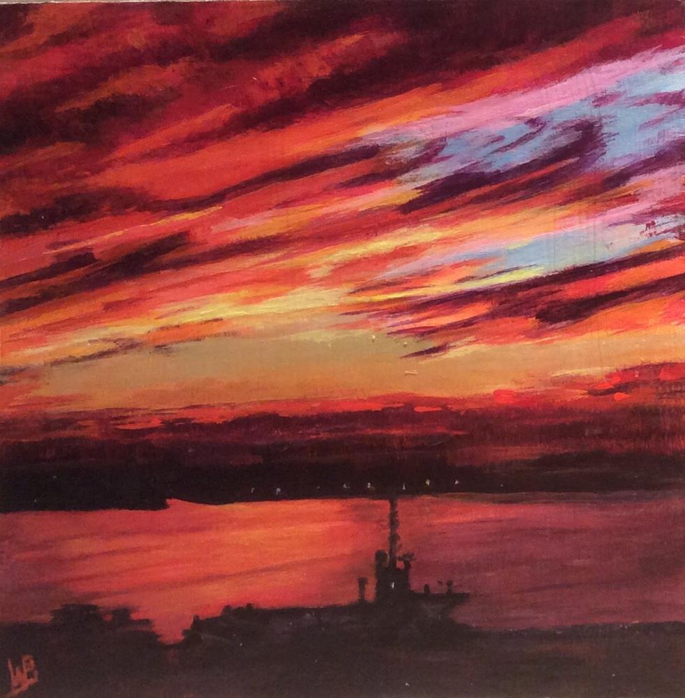 """Cloud 22"" original fine art by wendy black"