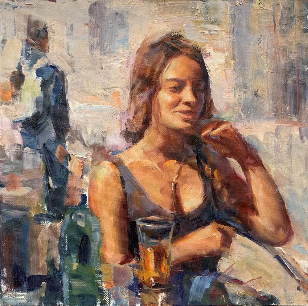 """Casual day"" original fine art by Jerry Salinas"