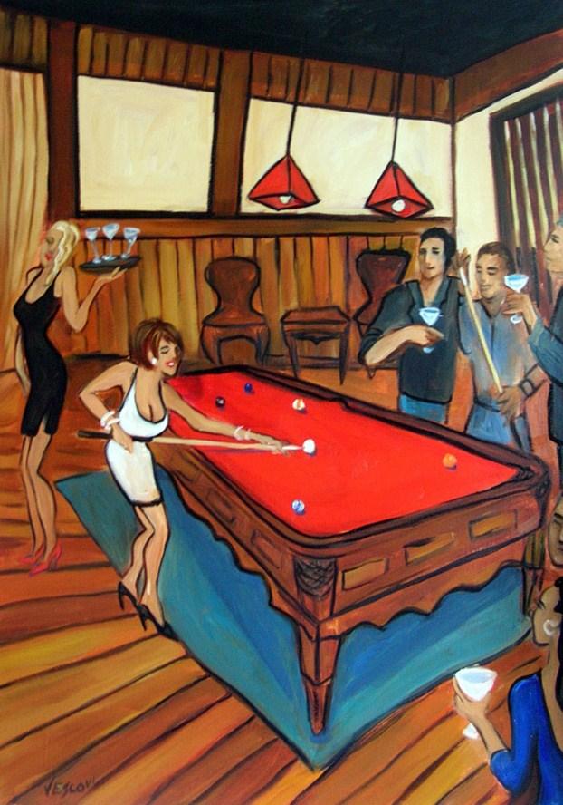 """Untitled"" original fine art by Valerie Vescovi"