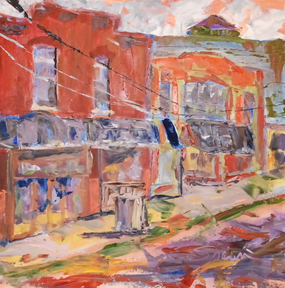 """""""Broadripple Boutique"""" original fine art by Shawn Deitch"""
