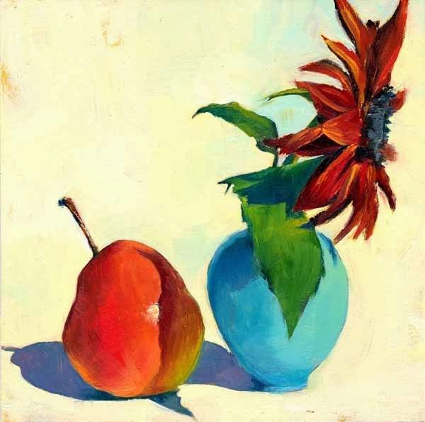 """Taking Our Bows"" original fine art by Brenda Ferguson"