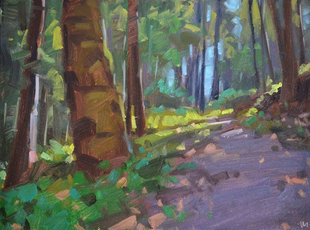 """The Path Less Taken"" original fine art by Carol Marine"