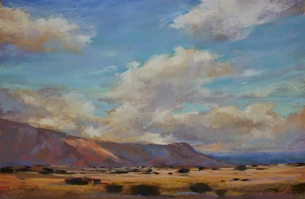 """""""What to do After a Workshop or Painting Trip"""" original fine art by Karen Margulis"""