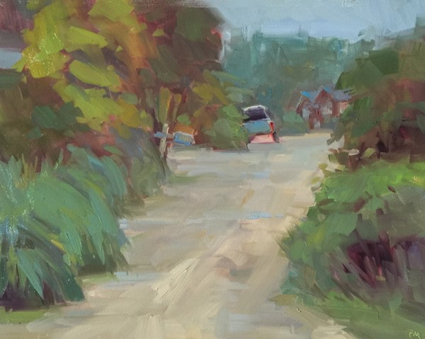 """A Little Bit of Lytle Beach Road"" original fine art by Patti McNutt"