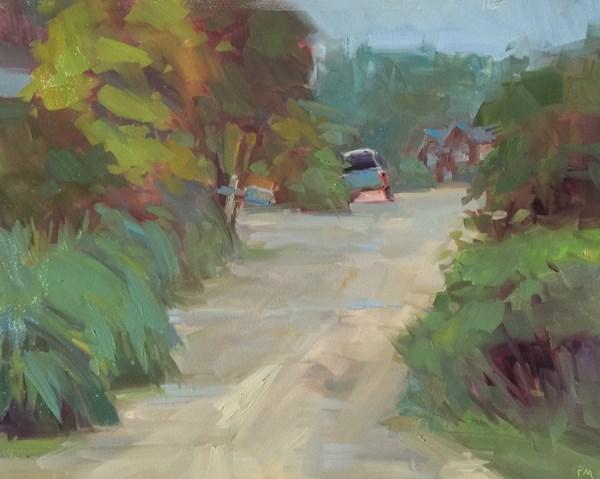"""A Little Bit of Lytle Beach Road"" original fine art by Patti McNutt"