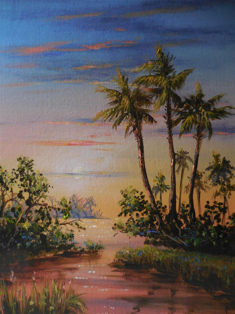 """Everglades"" original fine art by Terri Nicholson"