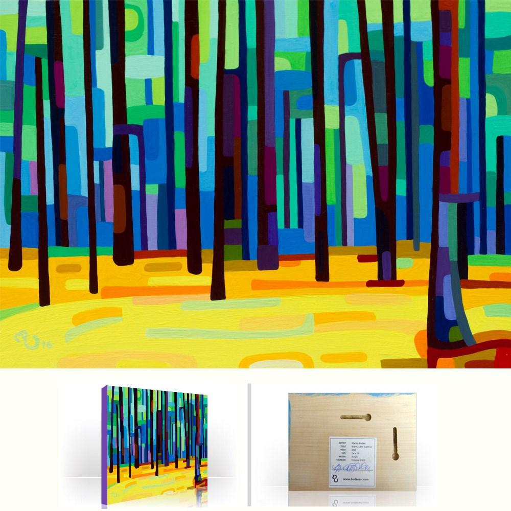 """Landscape Study #89"" original fine art by Mandy Budan"