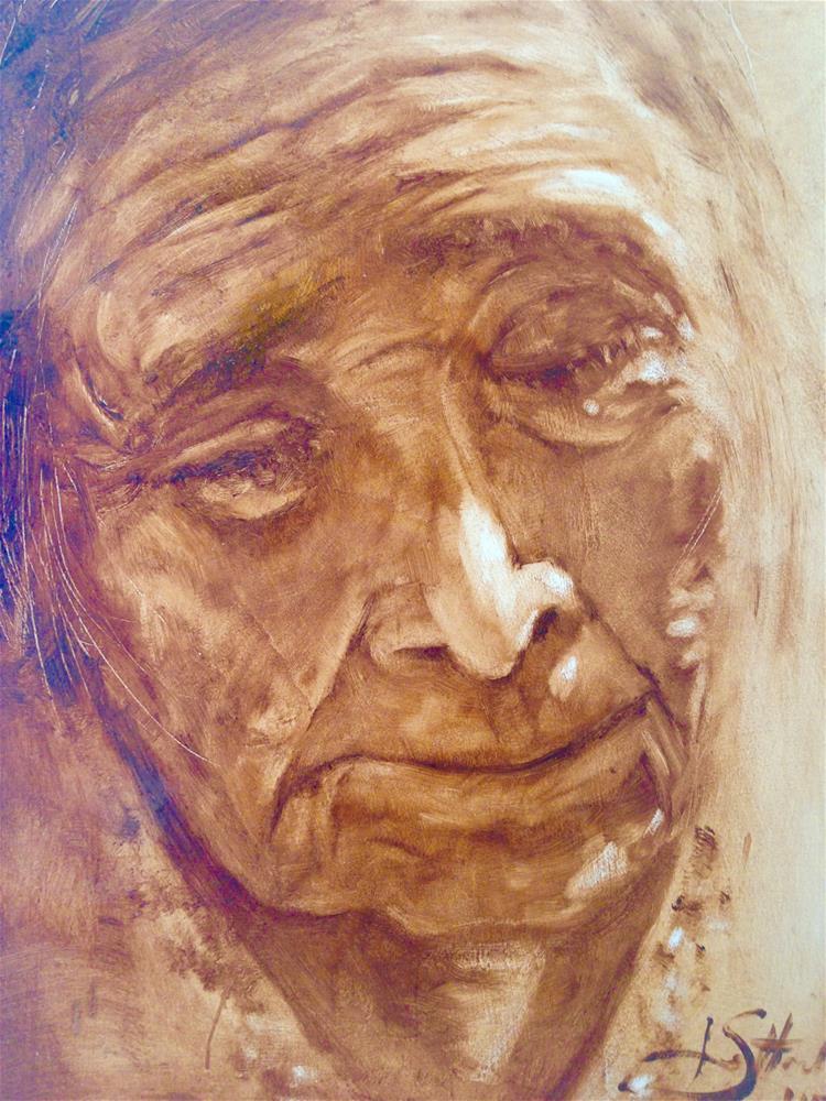 """Ruth"" original fine art by Janet Setterland"