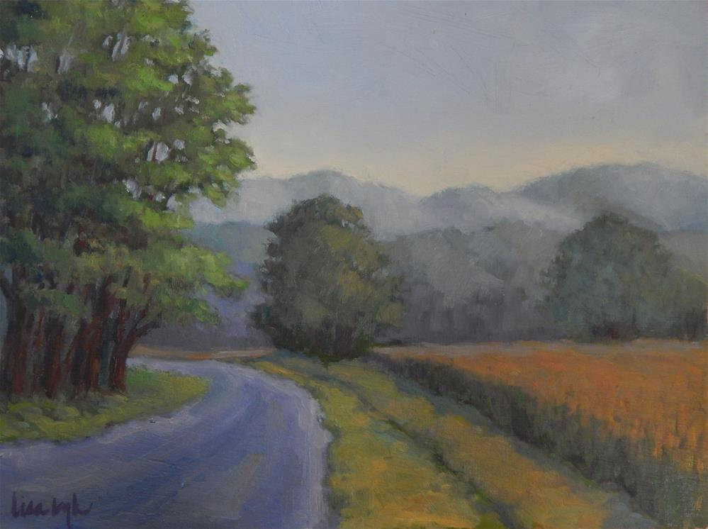"""""""Mists in the Mountains"""" original fine art by Lisa Kyle"""