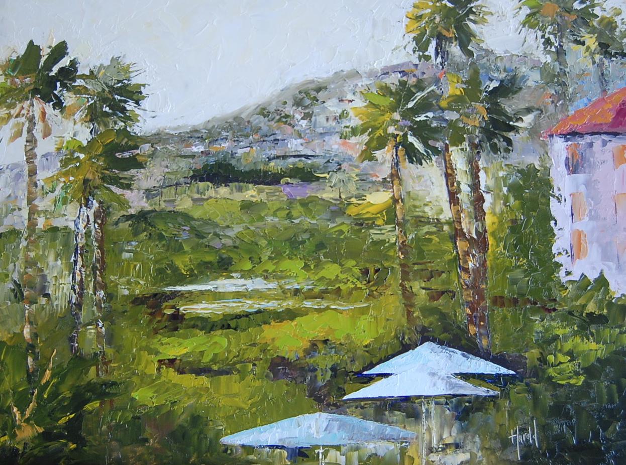 """""""Hills of Laguna"""" original fine art by Deborah Harold"""