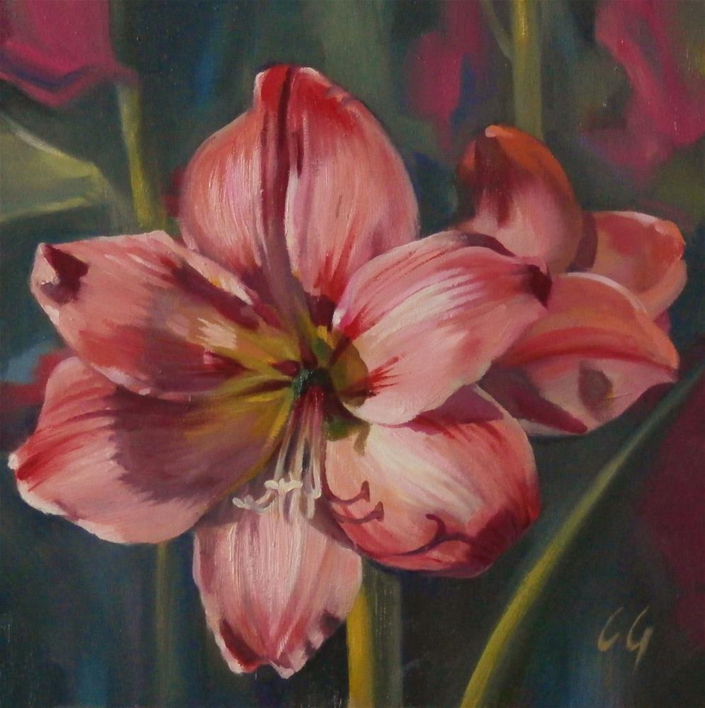 """Pretty in Pink"" original fine art by Carla Gauthier"