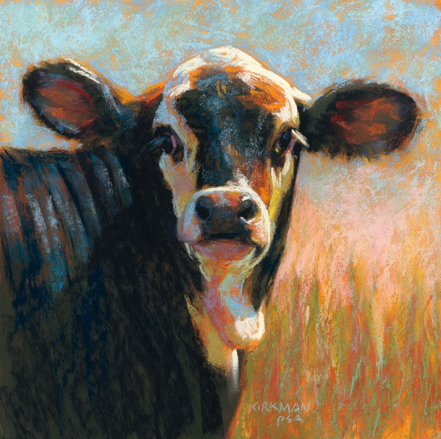 """Snickers"" original fine art by Rita Kirkman"