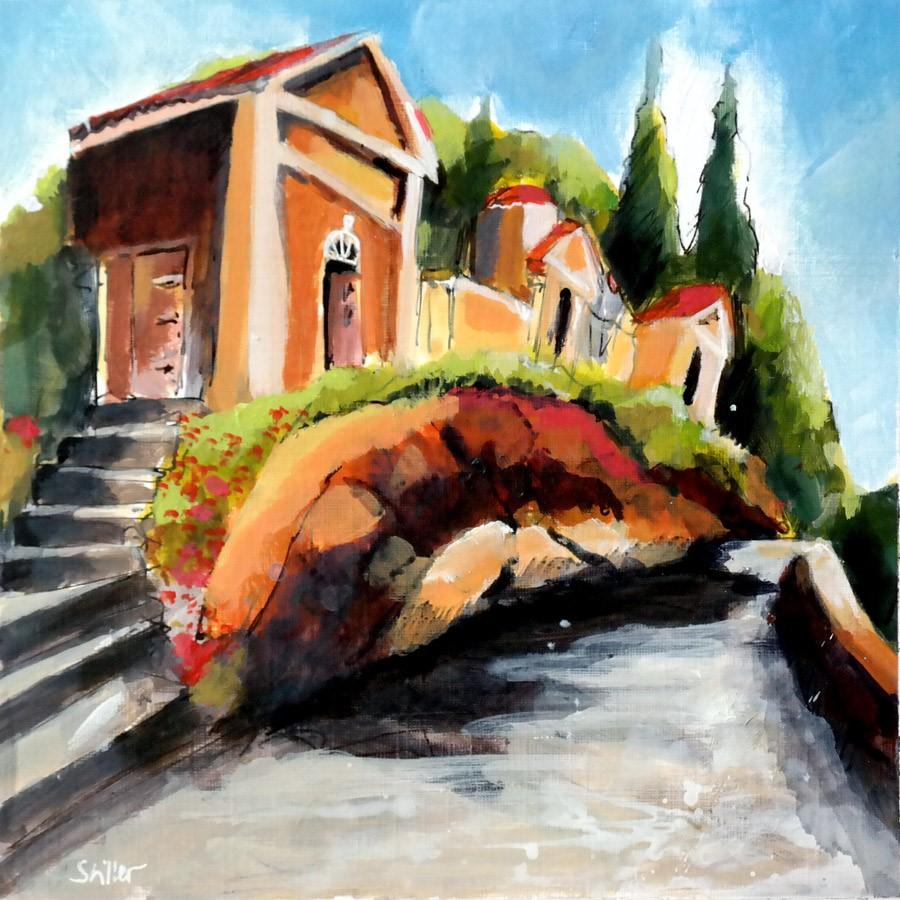 """""""2863 Montselice way"""" original fine art by Dietmar Stiller"""