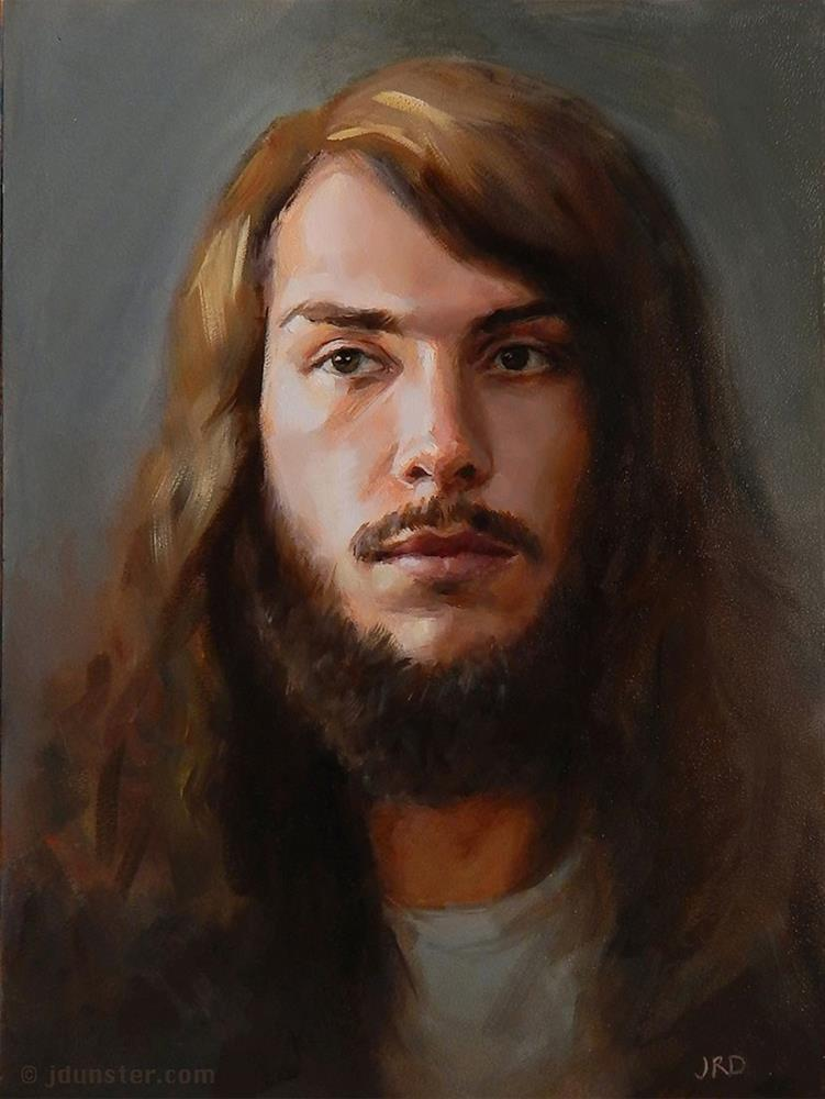 """Micah - from life"" original fine art by J. Dunster"