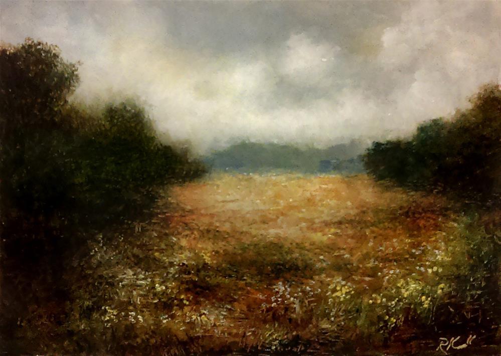 """Open Field"" original fine art by Bob Kimball"