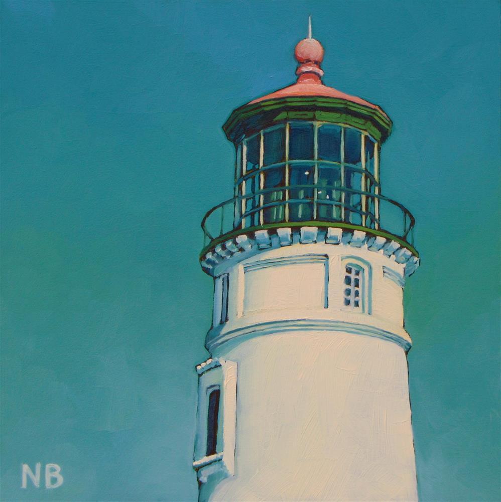 """""""Umpqua Light"""" original fine art by Nora Bergman"""