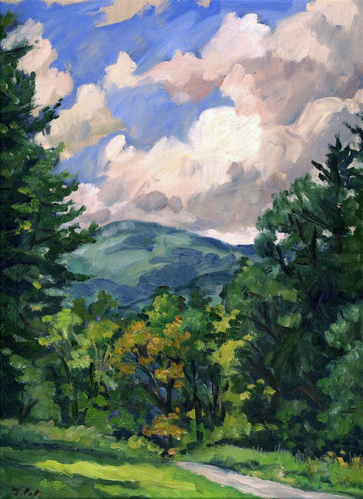 """Early Summer Day, Berkshires"" original fine art by Thor Wickstrom"