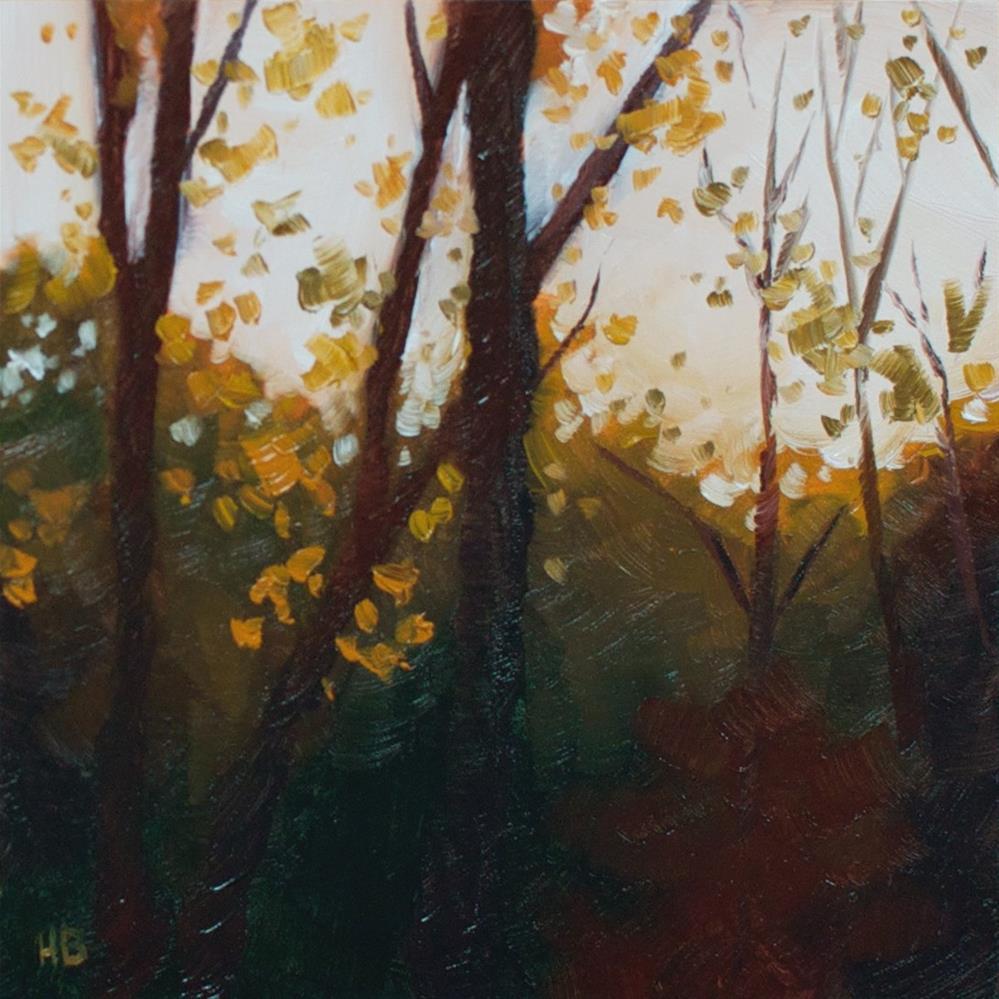 """Autumn Glow"" original fine art by Heather Bullach"