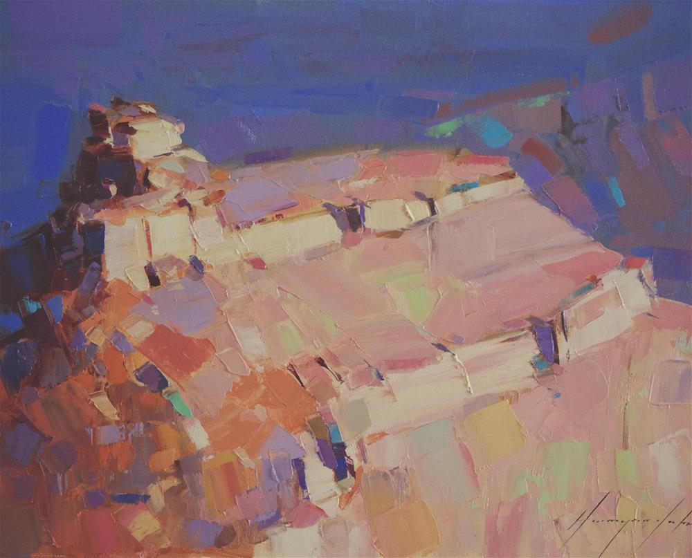 """Grand Canyon Original oil Painting"" original fine art by V Y"