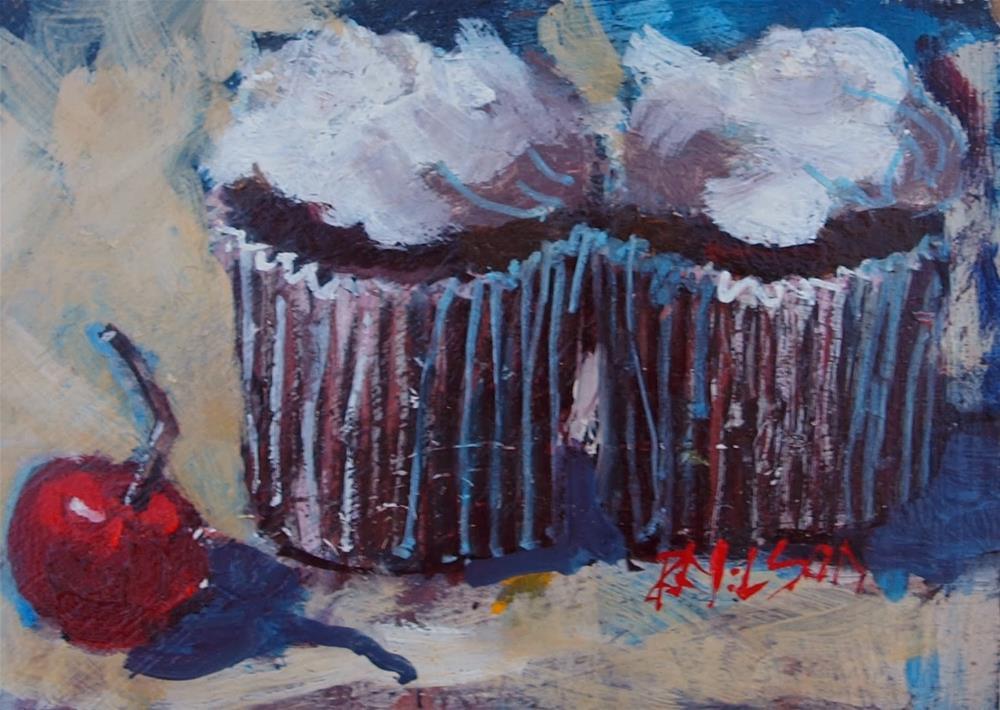"""Cakes"" original fine art by Rick Nilson"