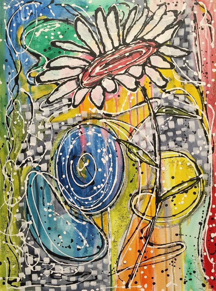 """Healing 3"" original fine art by Kali Parsons"