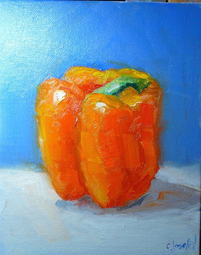 """""""Pepper 1"""" original fine art by Carol Josefiak"""