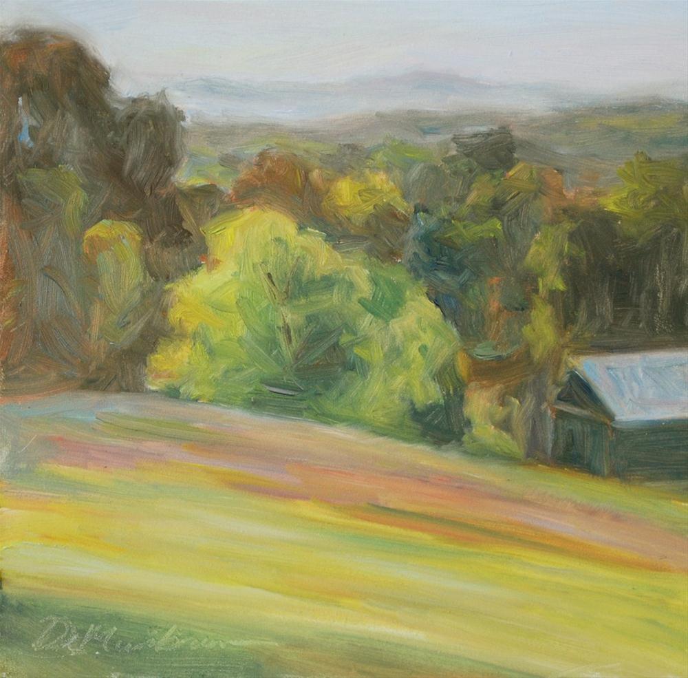 """Early Morning"" original fine art by Carol DeMumbrum"