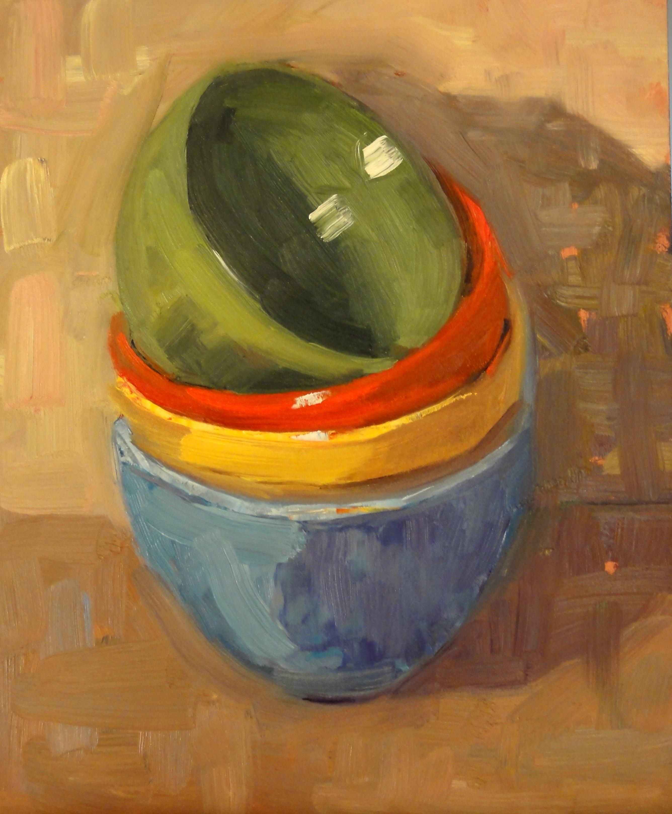 """""""Nesting Time"""" original fine art by Ann Feldman"""