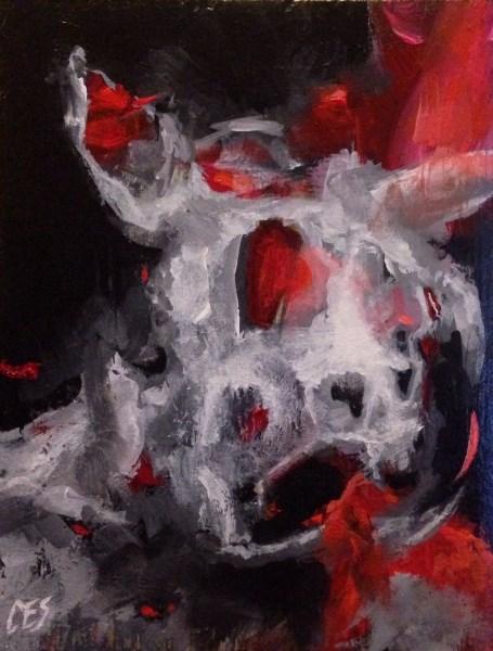 """Beast of Burden"" original fine art by Christine E. S. Code"