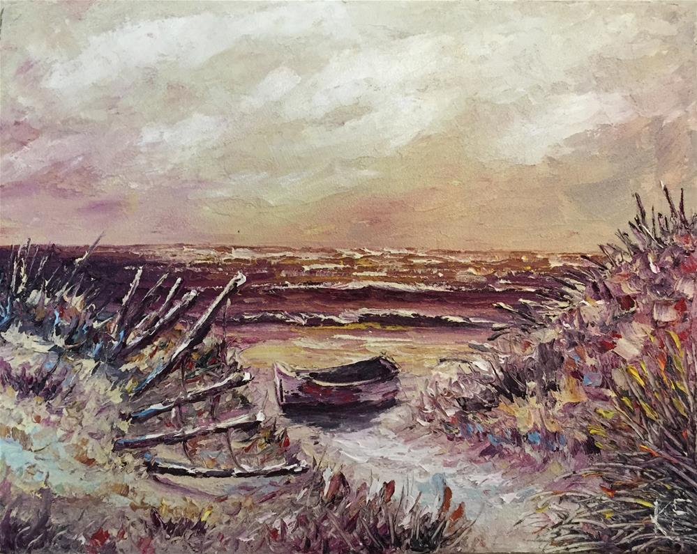 """The Dunes"" original fine art by Ken Fraser"