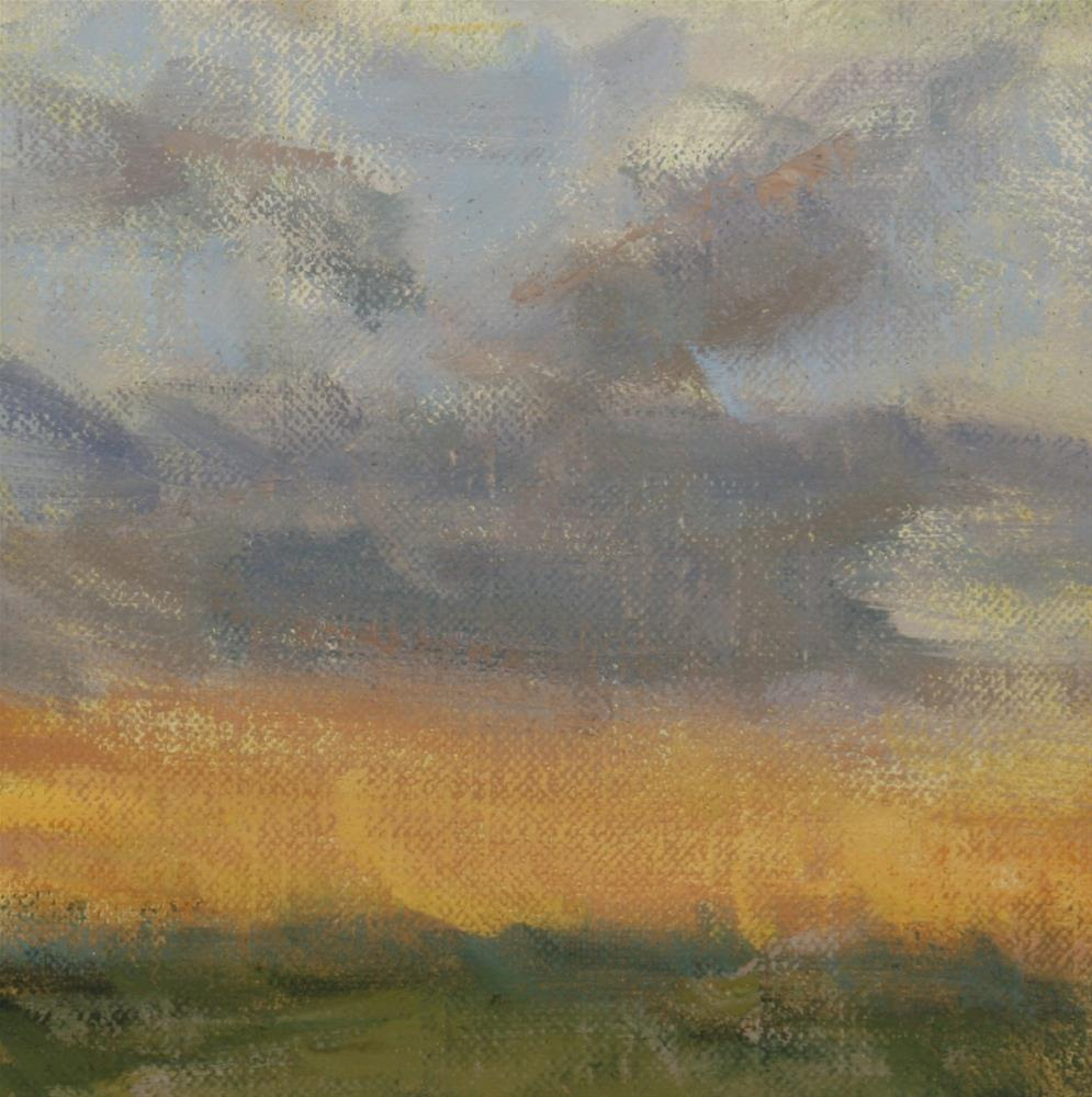 """""""Fall Sunrise 08"""" original fine art by Scott Serafica"""
