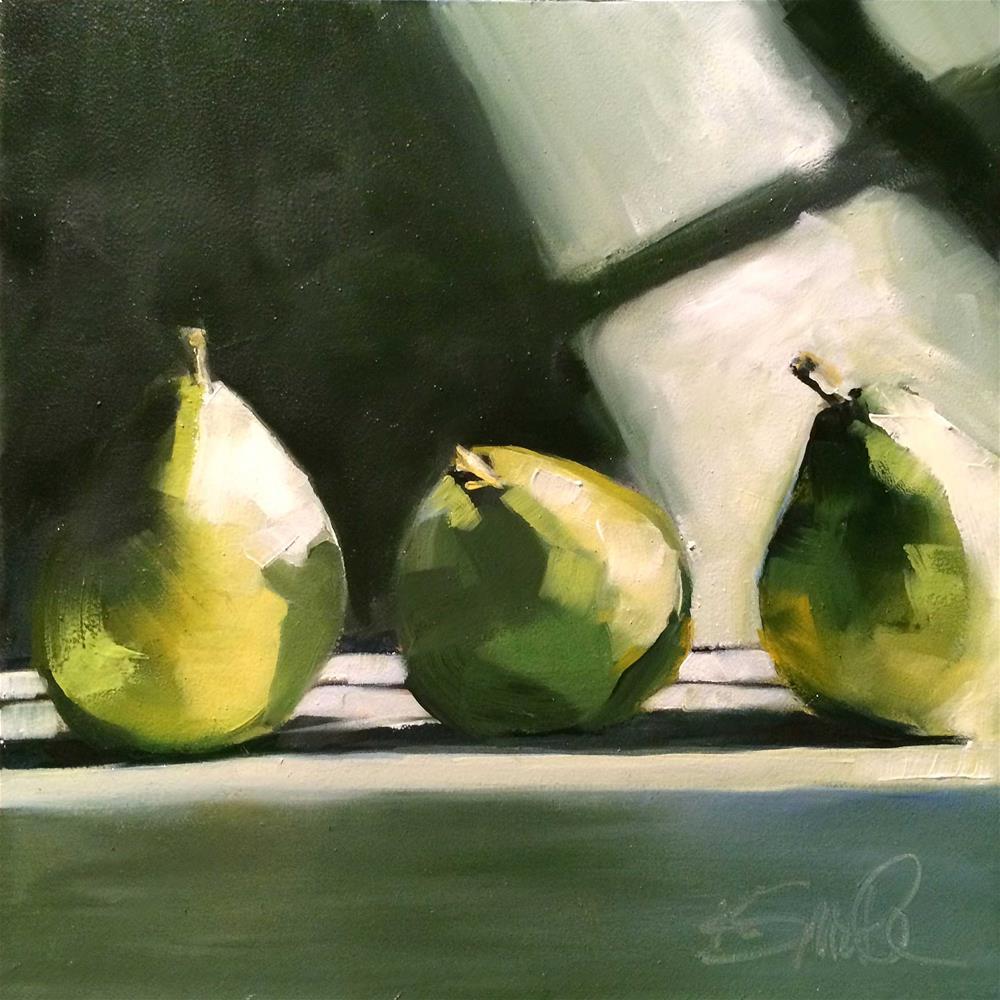 """trio"" original fine art by Kim Smith"