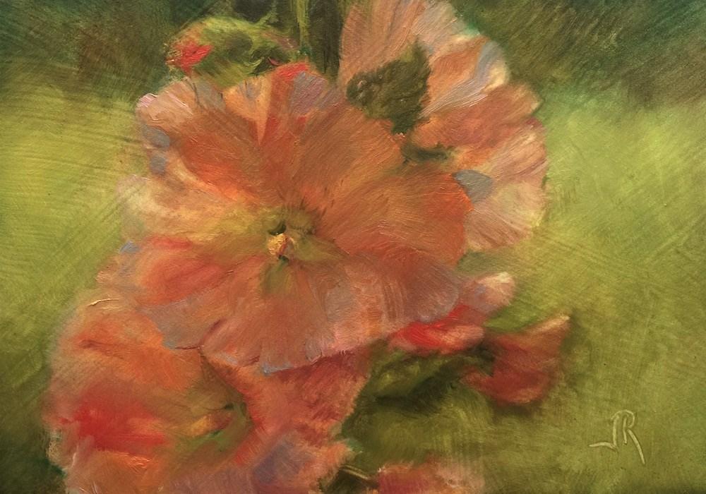 """""""Joy Is A Light"""" original fine art by June Rollins"""