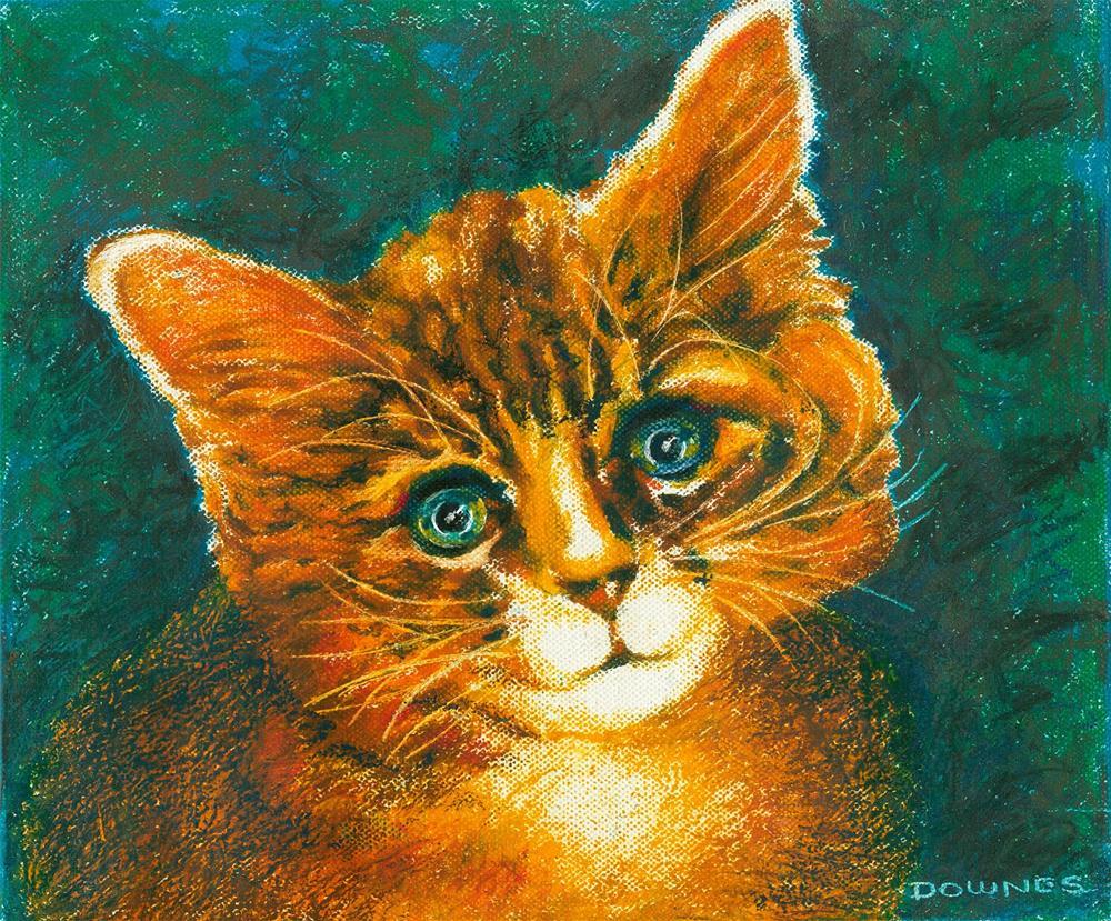 """137 CAT 2 FUBSY"" original fine art by Trevor Downes"