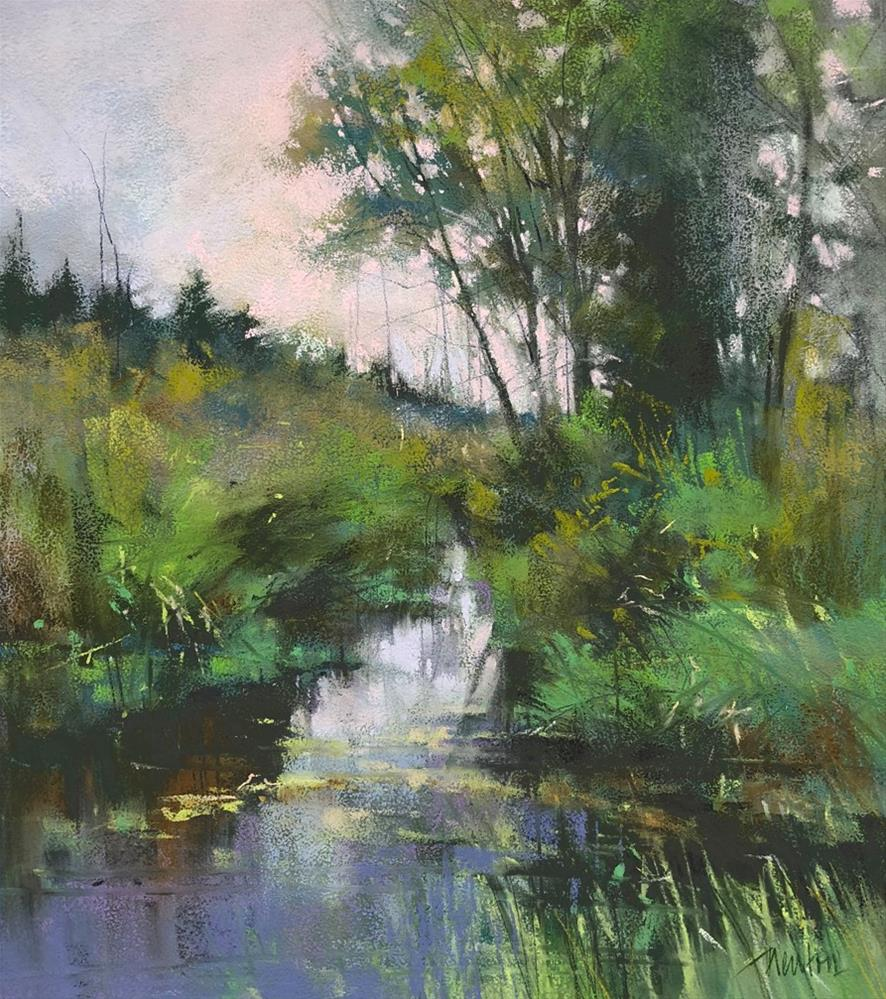 """Rock Creek Friday"" original fine art by Barbara Benedetti Newton"