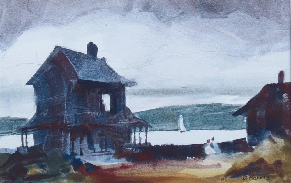 """The Visitor"" original fine art by Dann Morris"