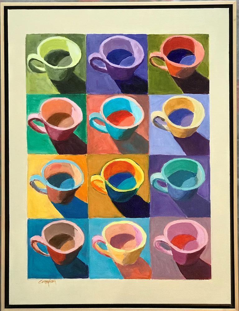 """Busy, Busy"" original fine art by Diane Campion"